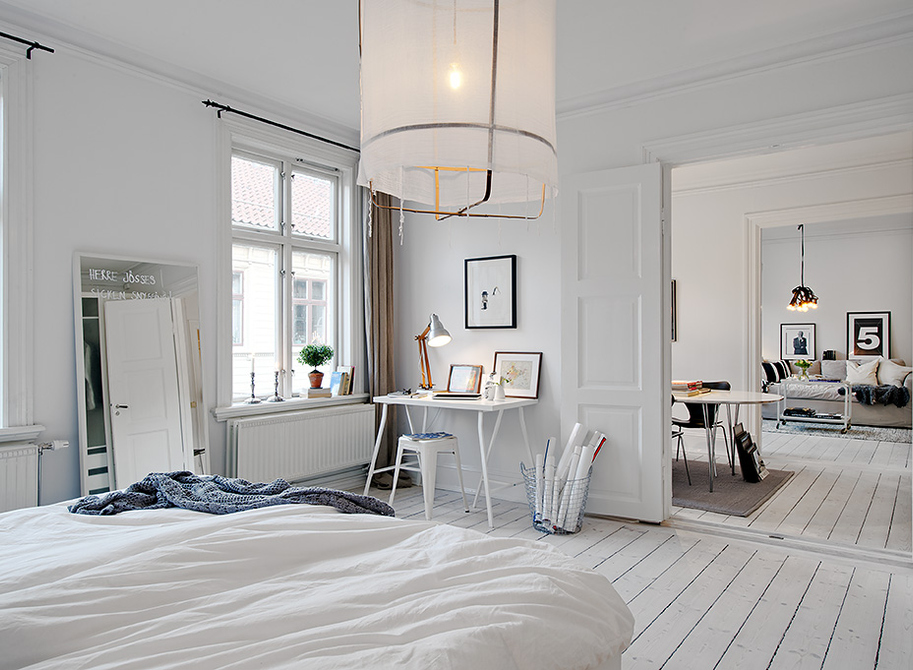 scandinavian floor lamp photo - 7