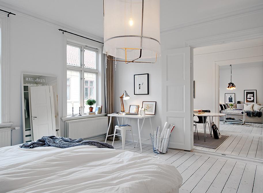 scandinavian floor lamp photo - 7