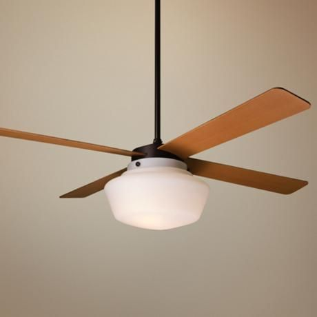 schoolhouse ceiling fan photo - 1
