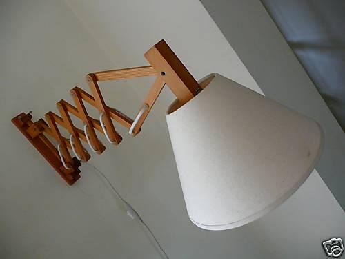 scissor wall lamp photo - 1