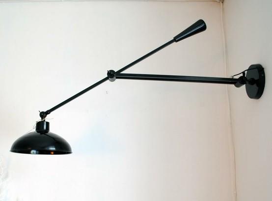 scissor wall lamp photo - 10
