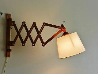 scissor wall lamp photo - 4