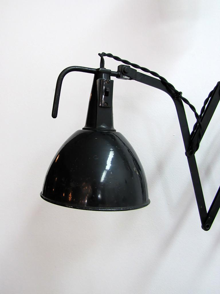scissor wall lamp photo - 7
