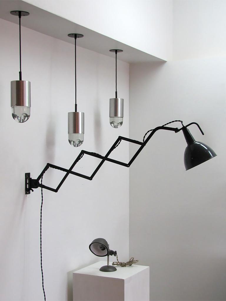 scissor wall lamp photo - 8