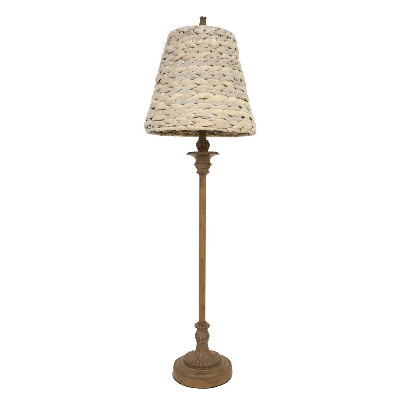 seagrass table lamp photo - 8