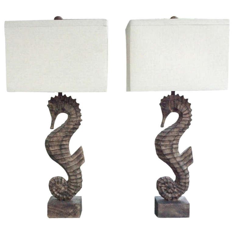 seahorse lamps photo - 5
