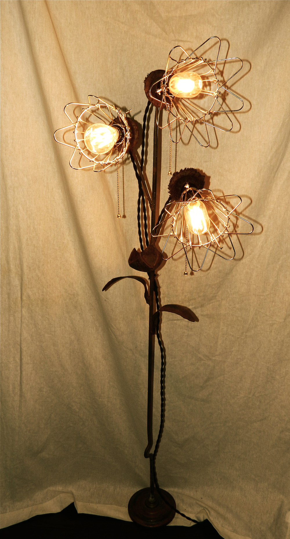 shabby chic floor lamps photo - 6