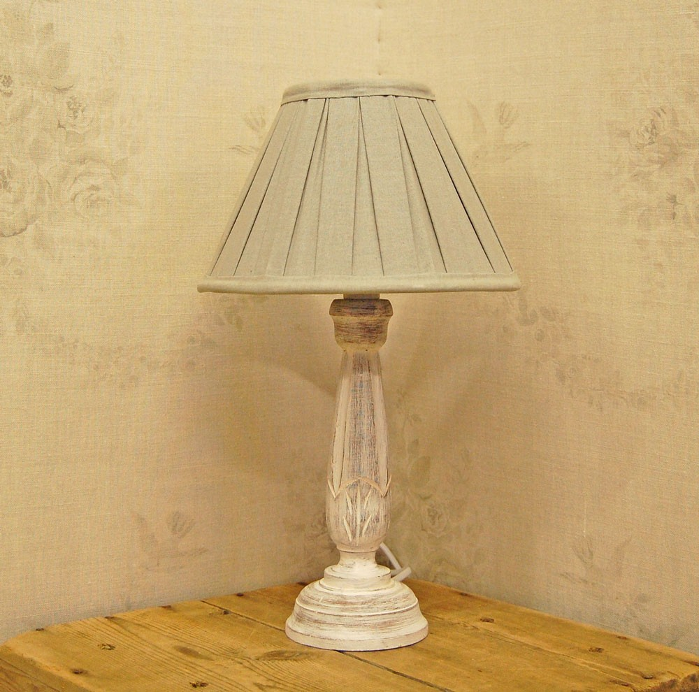 shabby chic table lamps photo - 3