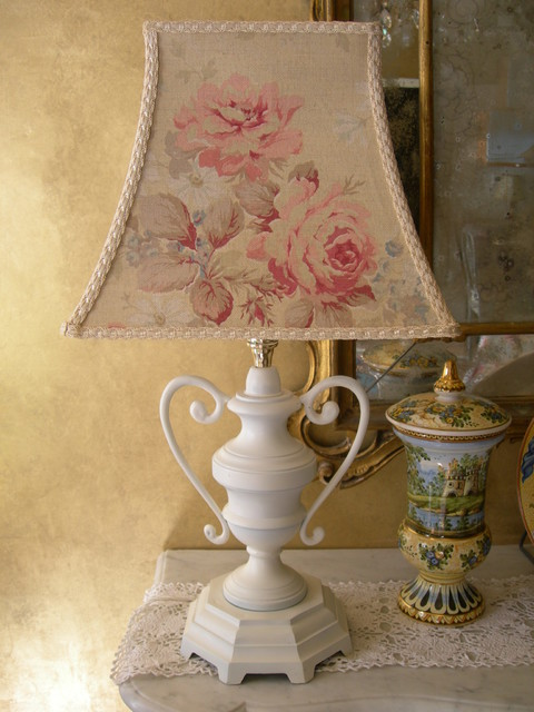shabby chic table lamps photo - 9