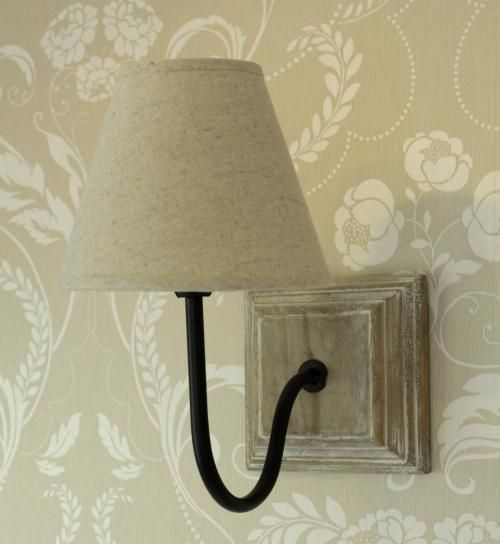 shabby chic wall light photo - 2