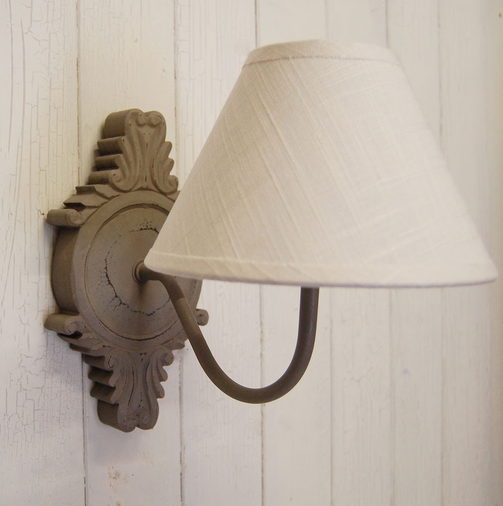 shabby chic wall light photo - 3