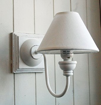 shabby chic wall light photo - 4