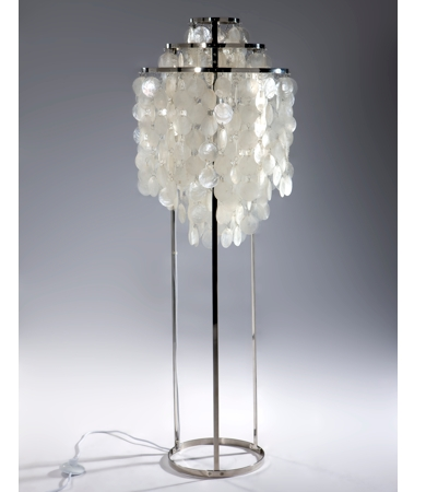 shell floor lamp photo - 1