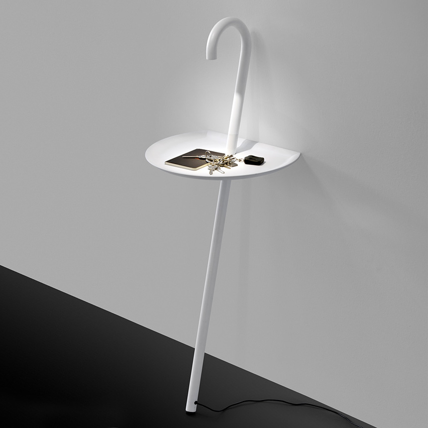 side table with lamp photo - 3 - Side Table With Lamp Warisan Lighting