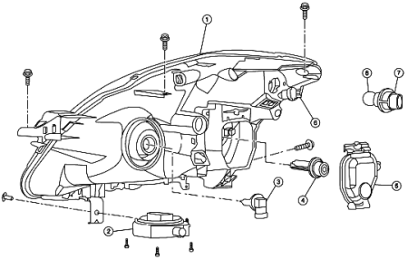 Subaru Legacy Front Light Bulb on 2010 vw jetta wiring diagram