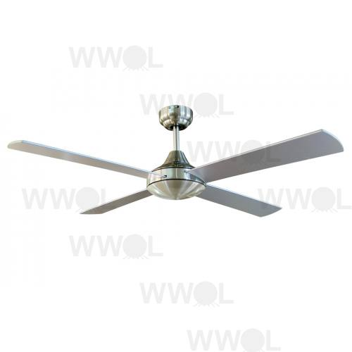 silver ceiling fans photo - 10
