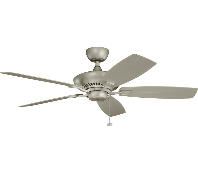 silver ceiling fans photo - 3