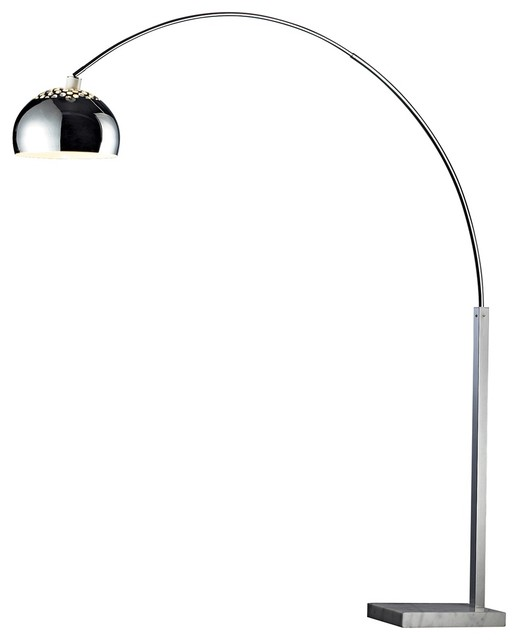 silver floor lamps photo - 3