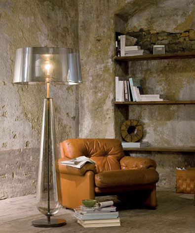 silver floor lamps photo - 4