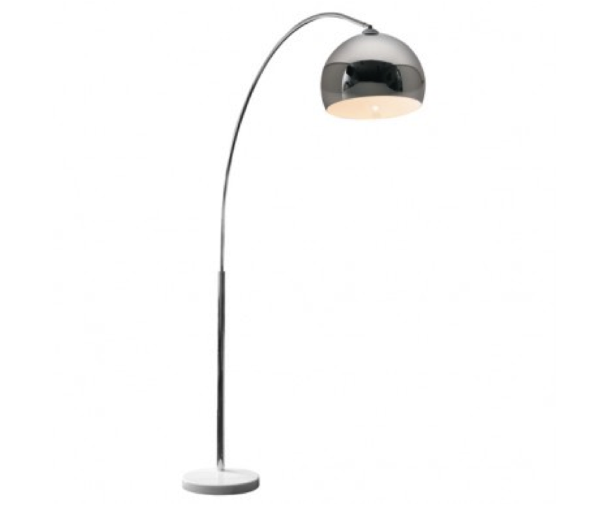 silver floor lamps photo - 5