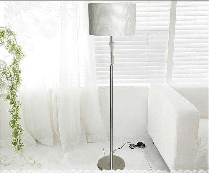 silver floor lamps photo - 7