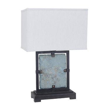 slate table lamp photo - 5