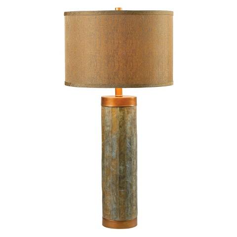 slate table lamp photo - 6