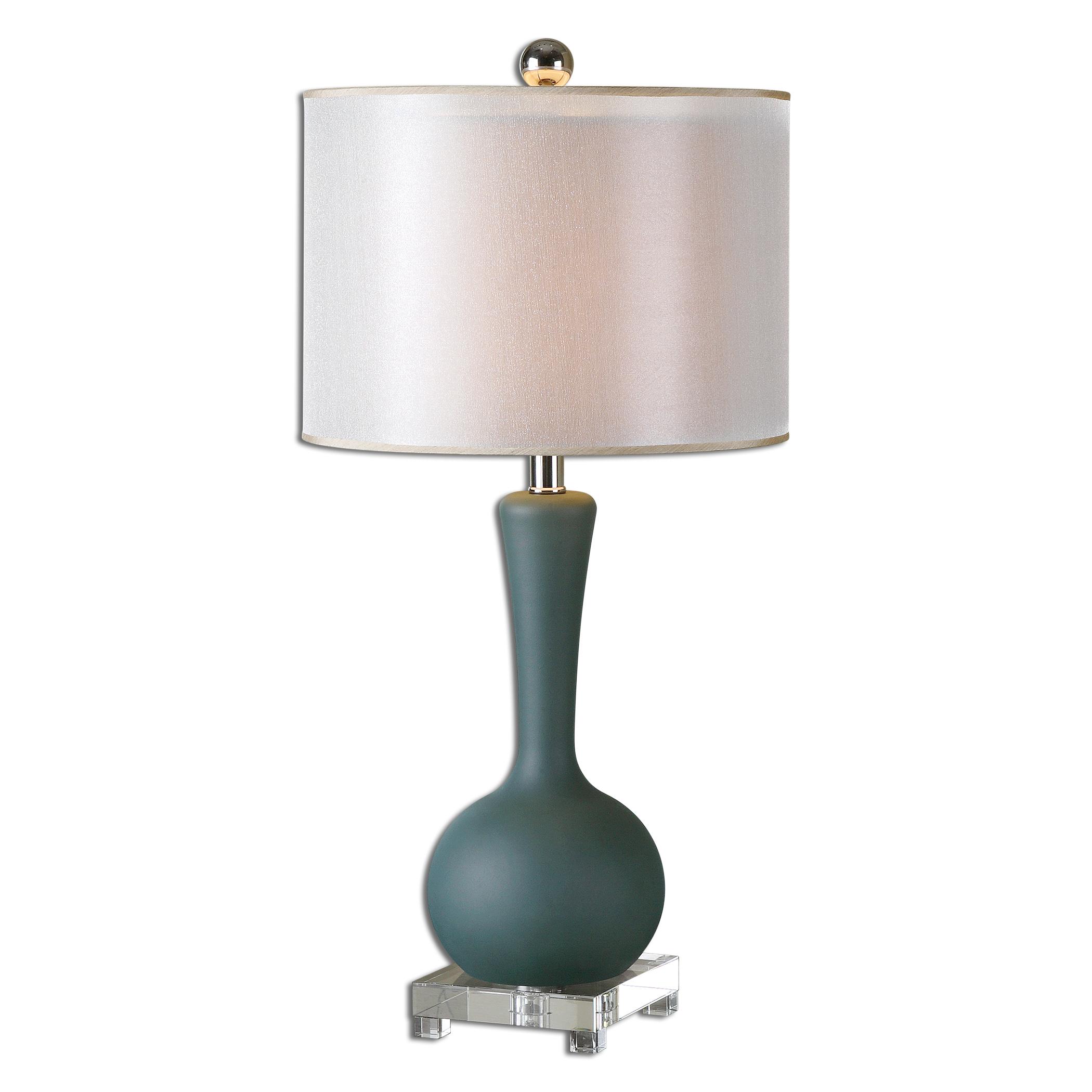slate table lamp photo - 7