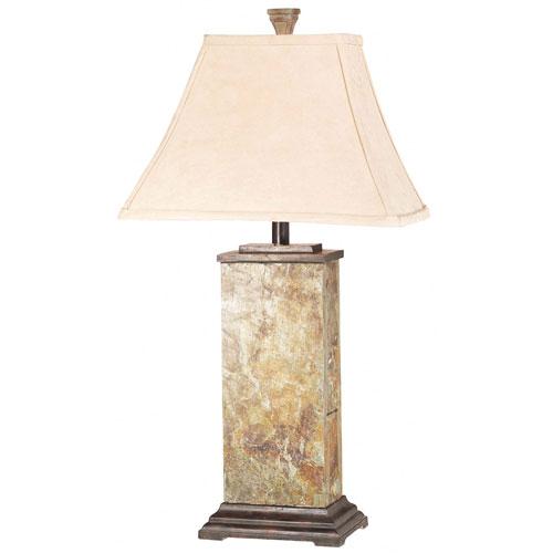 slate table lamp photo - 9