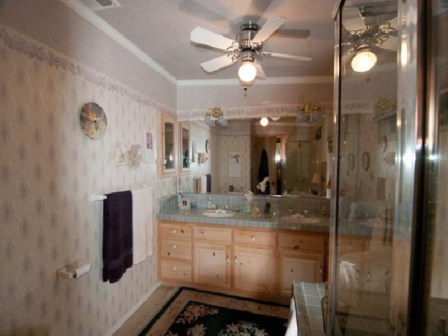 Small Bathroom Ceiling Fans Photo   10