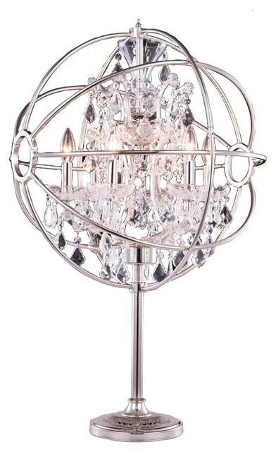 small crystal table lamps photo - 10
