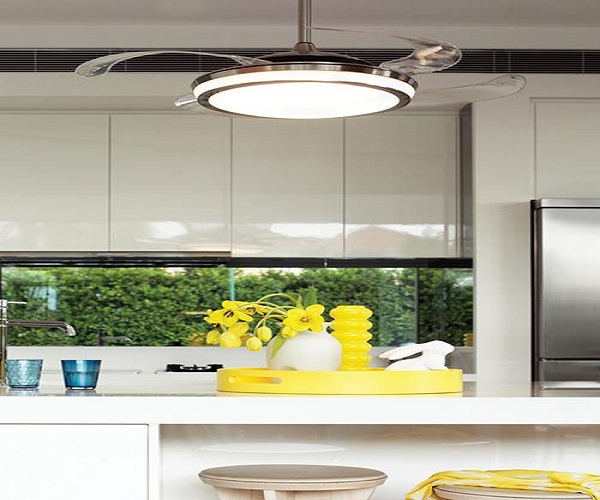 small kitchen ceiling fans photo - 3