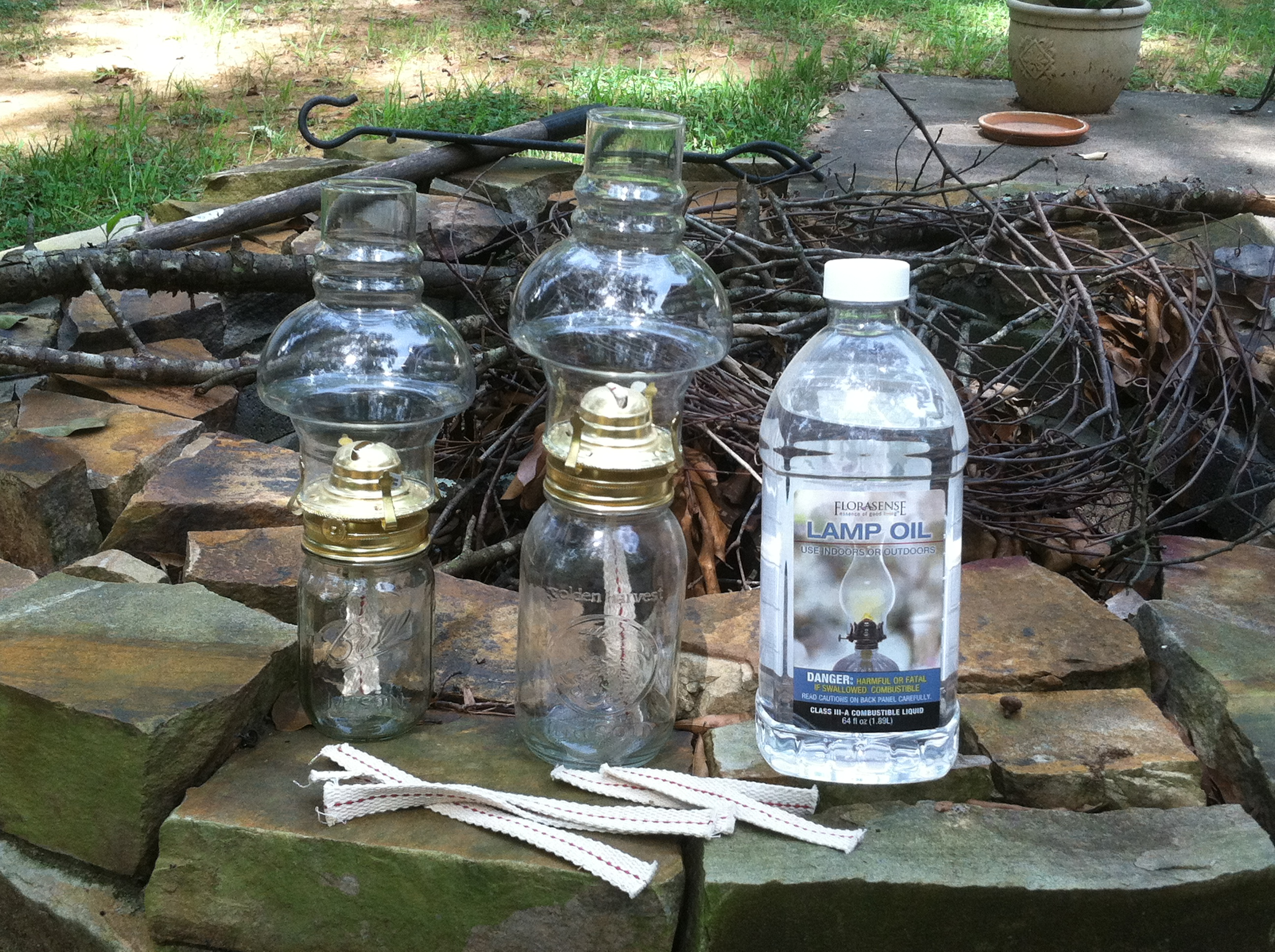 small oil lamps photo - 2