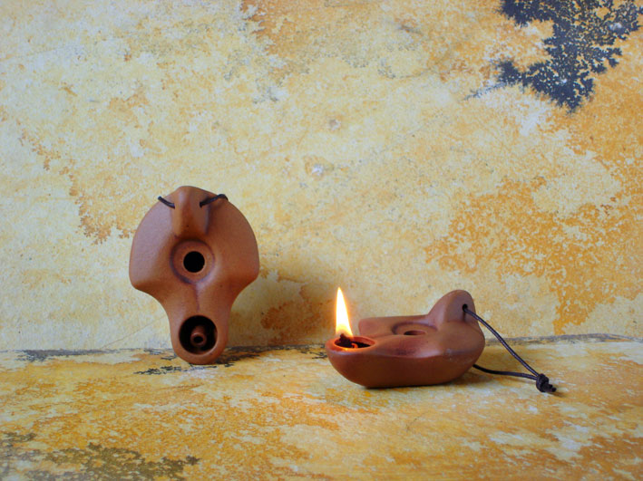 small oil lamps photo - 3