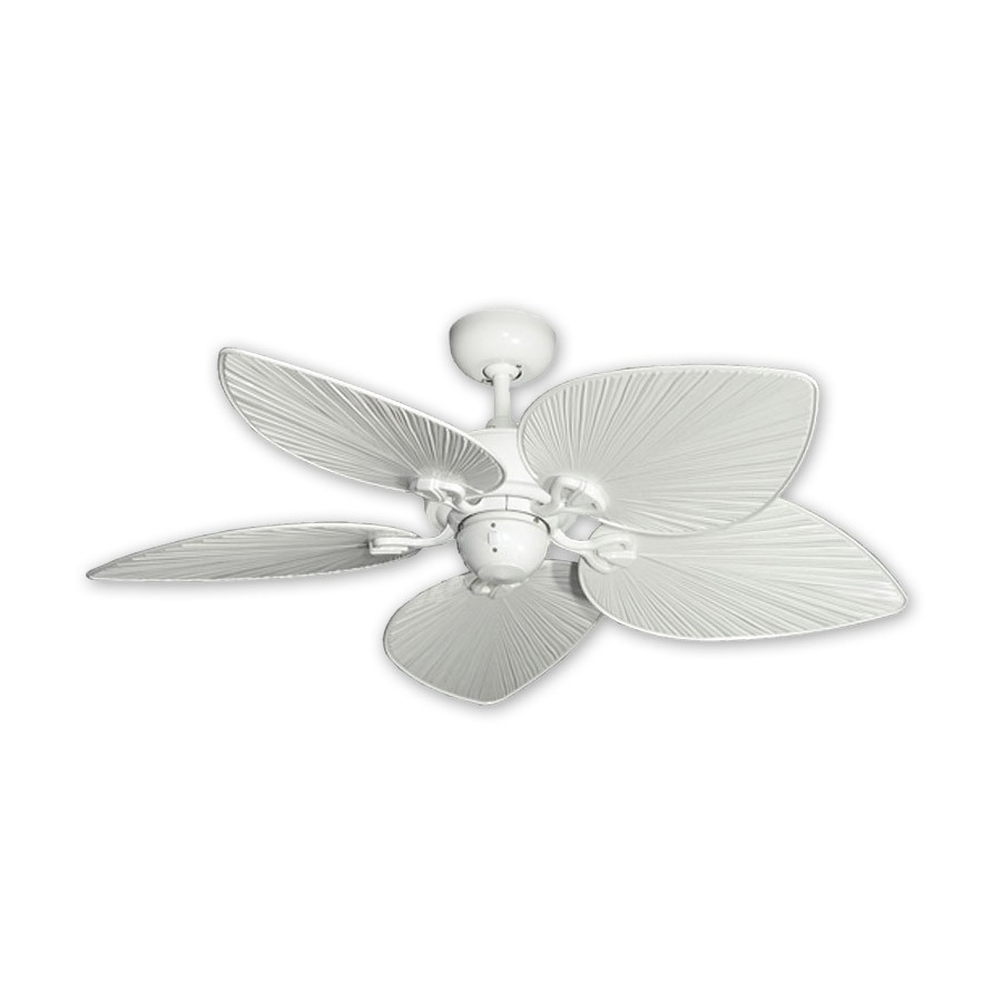 small white ceiling fans photo - 2