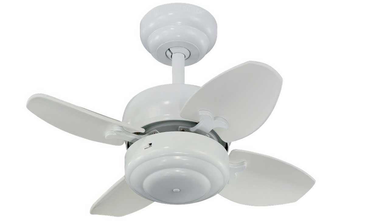 small white ceiling fans photo - 4