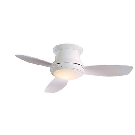 small white ceiling fans photo - 5