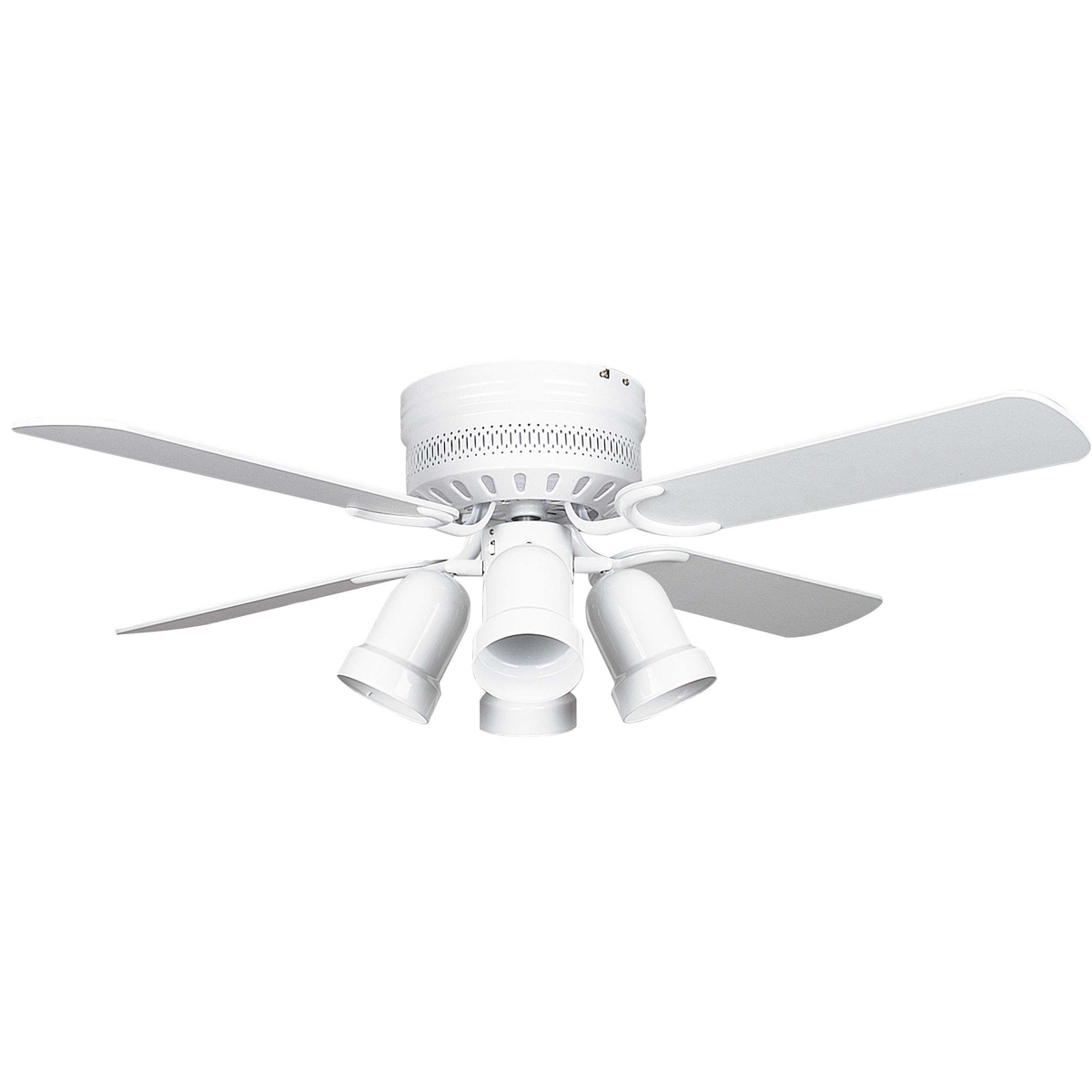 small white ceiling fans photo - 6