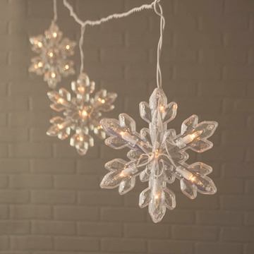 snowflake lights outdoor photo - 9
