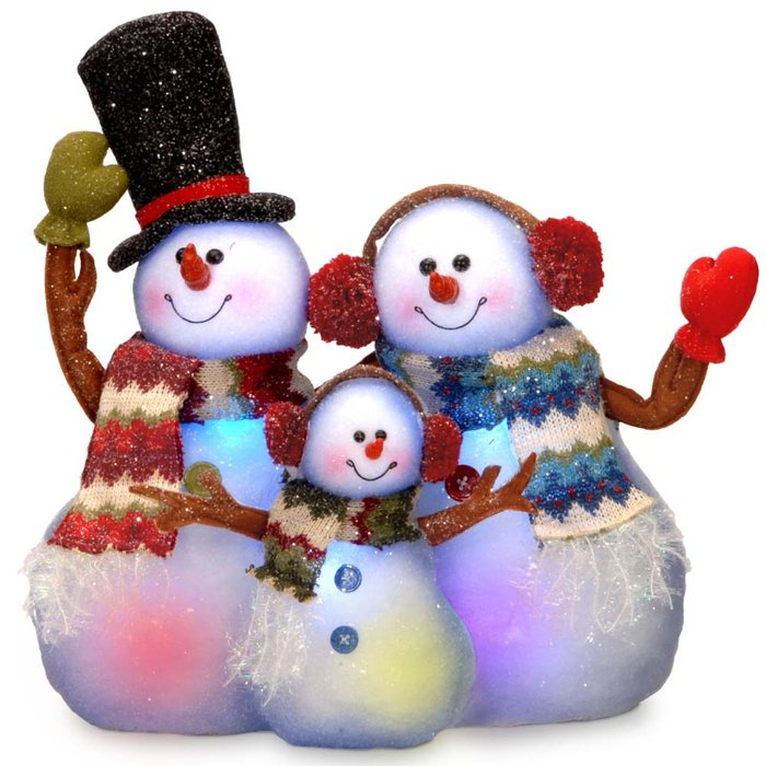 snowman outdoor lights photo - 10