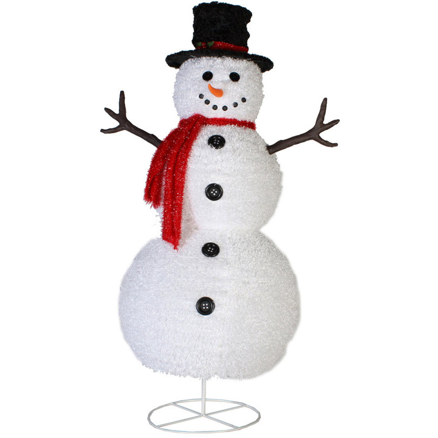 snowman outdoor lights photo - 2