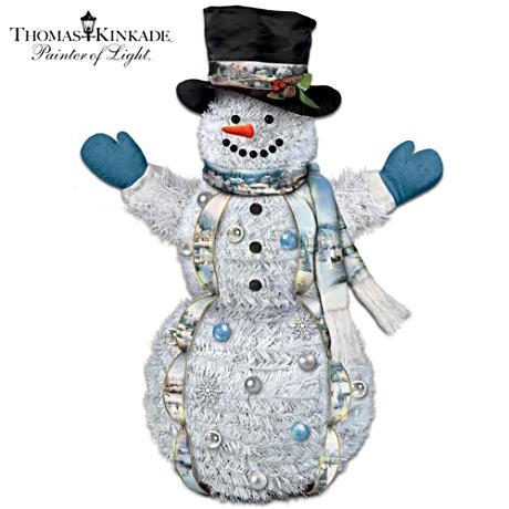 snowman outdoor lights photo - 8