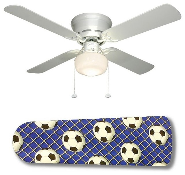 soccer ceiling fan photo - 3