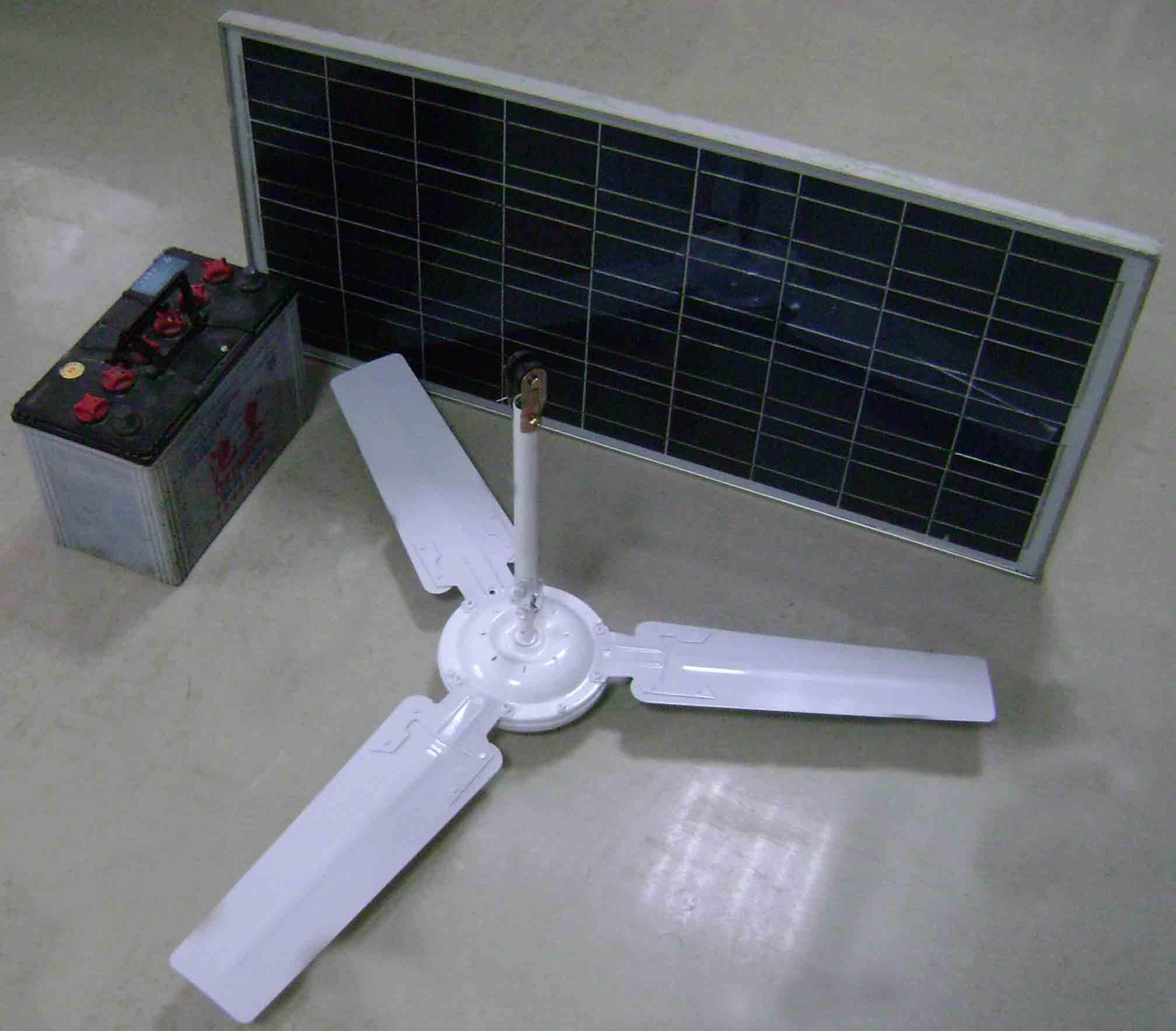 solar ceiling fans photo - 9