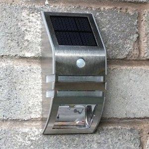 solar led wall lights photo - 4