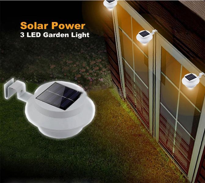 solar led wall lights photo - 5