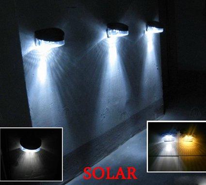 Solar led wall lights outdoor warisan lighting - Iluminacion exterior led ...