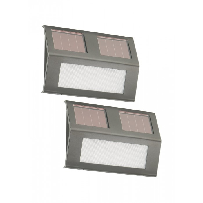 solar led wall lights outdoor photo - 6