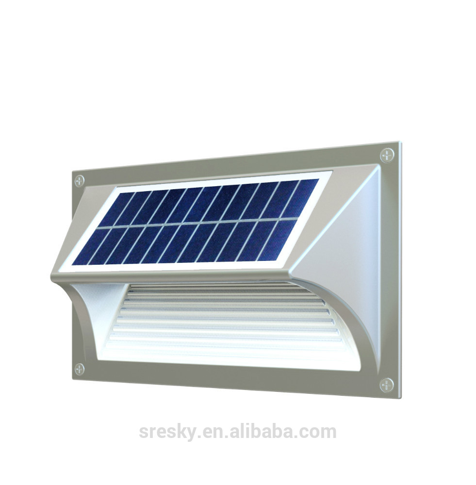 solar powered exterior wall lights photo - 4