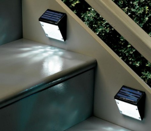 solar powered exterior wall lights photo - 9